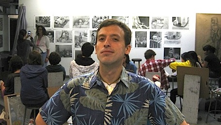 The Accidental Hawaiian Crooner at Otis College of Art and Design in Los Angeles (July 2010)