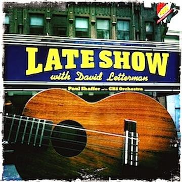 david letterman, late show, kamaka, ukulele, jason poole