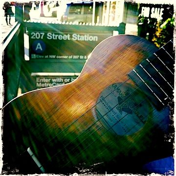 kamaka, kamaka 'ukulele, kamaka ukulele, soprano ukulele, strummin' in the city, jason poole