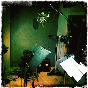 Jason Poole, recording session, accidental hawaiian crooner, nyc, musical theater